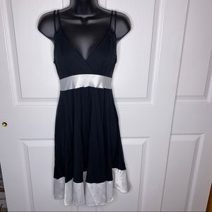 Black and white Express dress size small